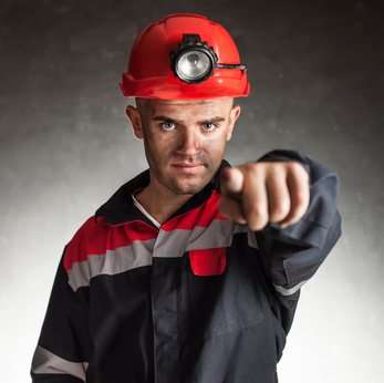 Bewerbungsmuster - Berg- und Maschinenmann/-frau für Vortrieb und Gewinnung