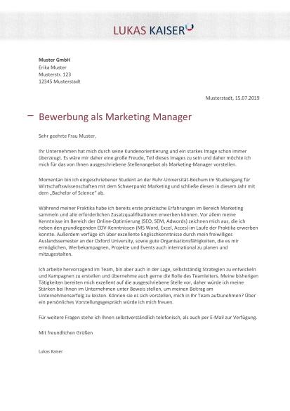 Marketing Berufsbilder Karriere Bewerbung 1