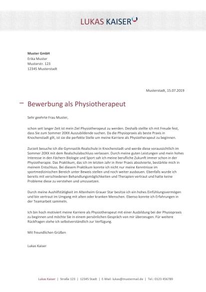 Physiotherapeut In Berufsbild Karriere Bewerbung 7