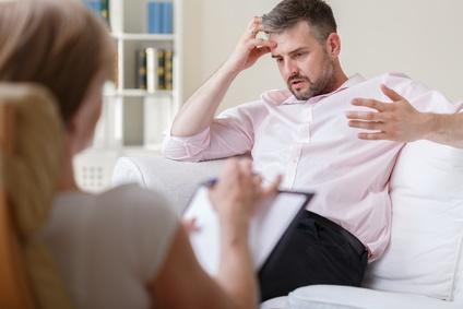 Psychotherapiesitzung
