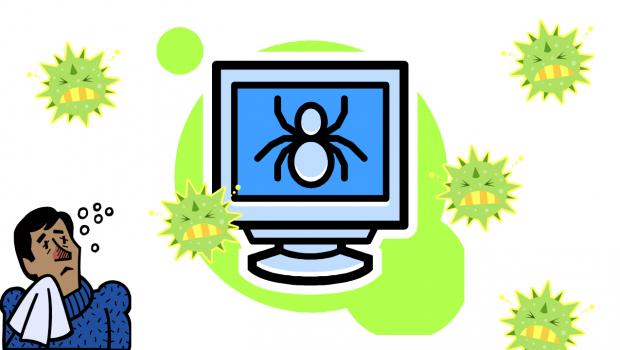 Virenschutz für Online-Bewerber