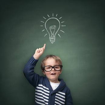 Idee für brillante Bewerbung