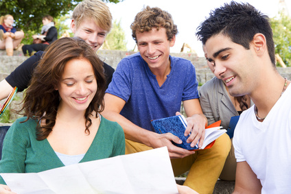 Studenten Lerngruppe