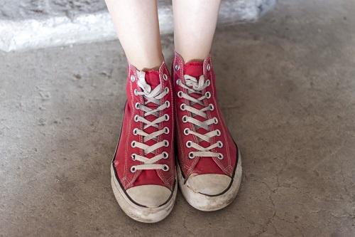 Falsches Schuhwerk beim Vorstellungsgespräch
