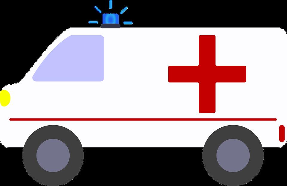 Krankenwagen, Comic