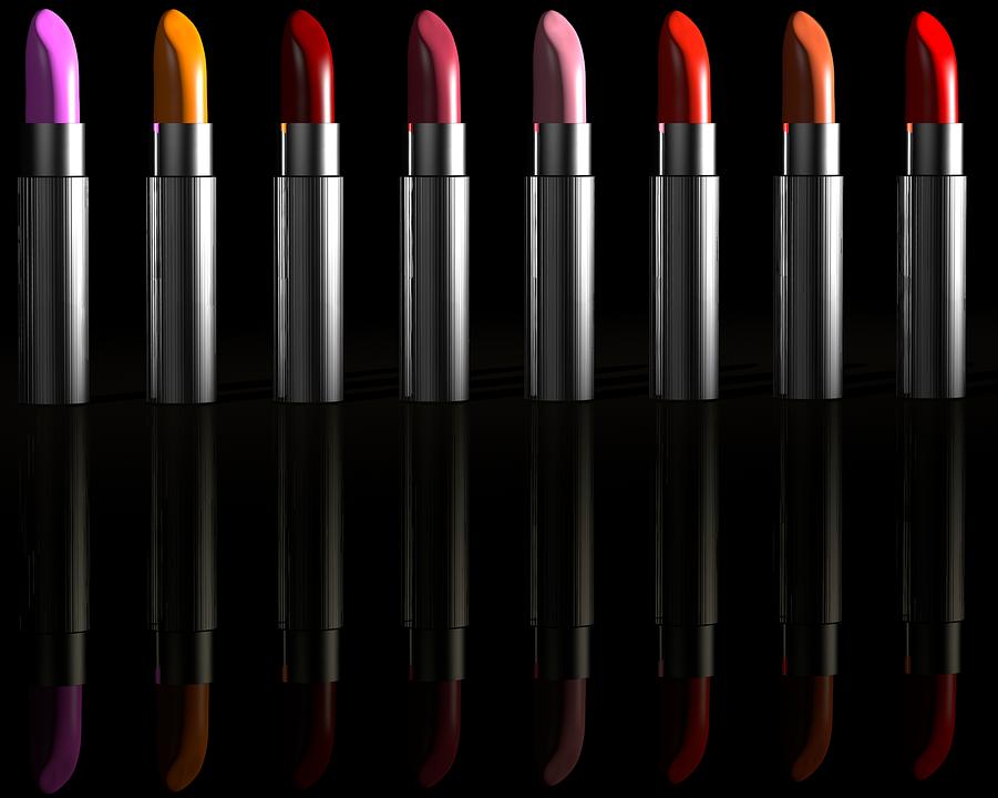verschiedene Lippenstifte