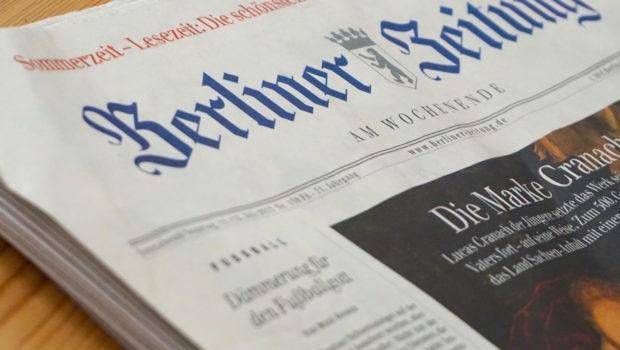 Fernstudium Journalismus - Zeitung liegt auf dem Tisch