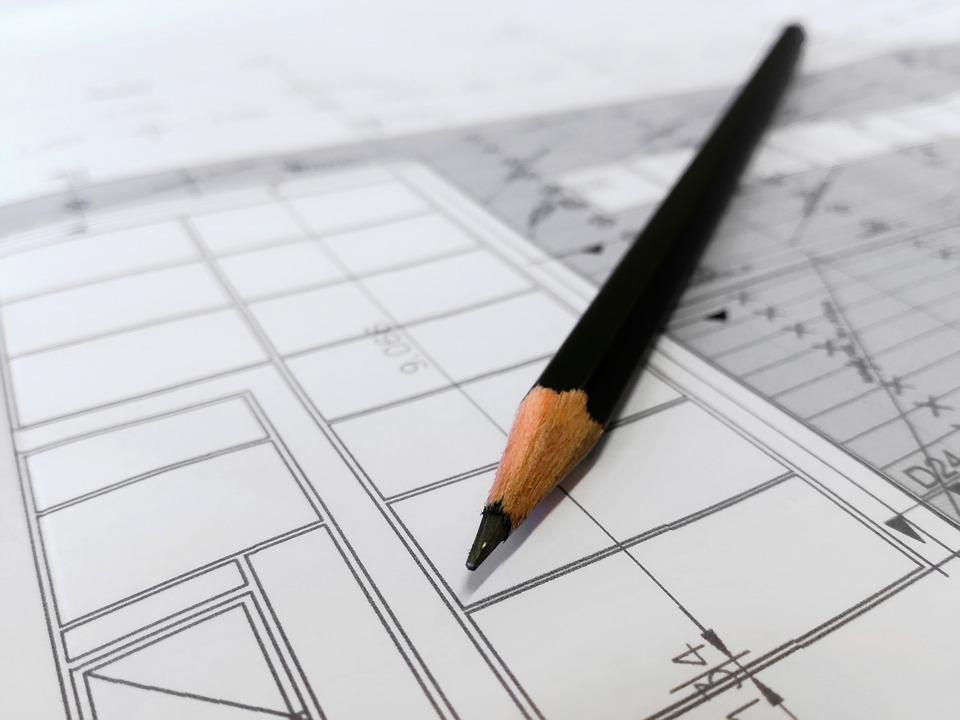 Grundriss Entwurf Zeichnung