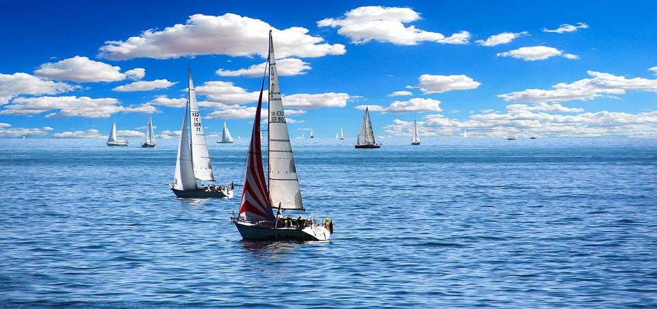 Segelboot Regatta